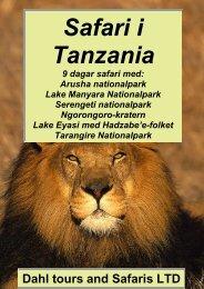 Safariprogram med Lake Eyasi och Serengeti - Dahl Safaris