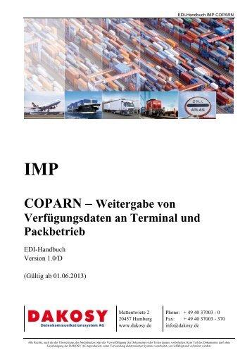 COPARN - DAKOSY Datenkommunikationssystem AG