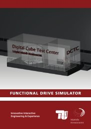 functional drive simulator - Industrielle Informationstechnik - TU Berlin