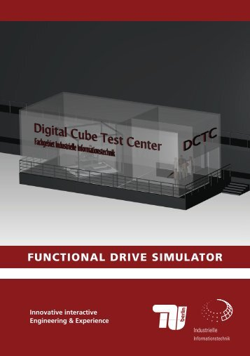 functional drive simulator - Industrielle Informationstechnik - TU Berlin
