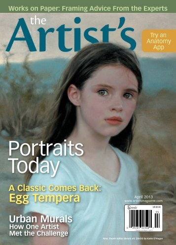 The Artist's Magazine, April 2013 - Artist's Network