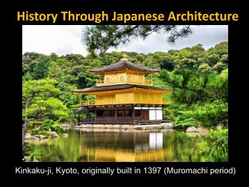 History Through Japanese Architecture - DMHScommunity