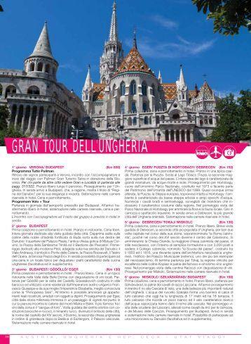 GRAN TOUR DELL'UNGHERIA - Utat Viaggi