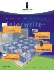 Interwrite Interactive Classroom - NC Wise Owl