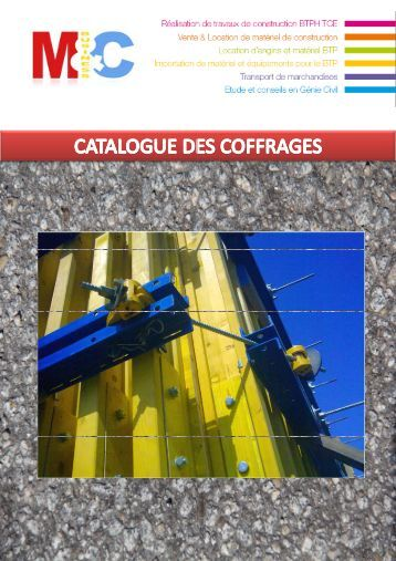 Solutions de coffrage - Made-in-algeria.com