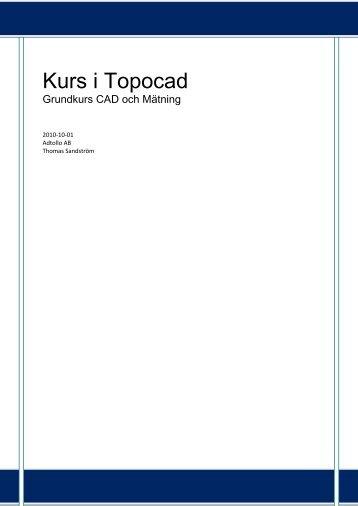 Topocad Grund självstudier.pdf - Adtollo