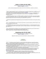 Ordin nr. 88 din 20/03/2007 Regulament din 20/03/2007 - Aquademica