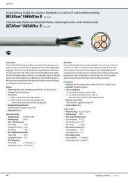 BETAflam® CHEMAflex R - LEONI Business Unit Wind & Solar Power