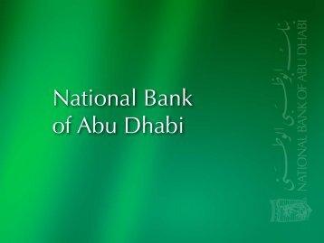 13 February 1968 - National Bank of Abu Dhabi