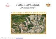 analisi SWOT municipio 4 MEDIA VAL BISAGNO - Urban Center
