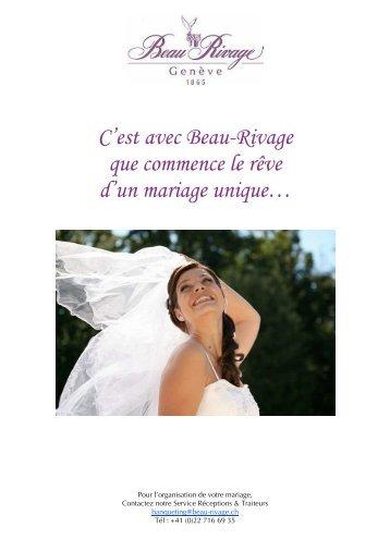 Brochure mariage 2012 - FR