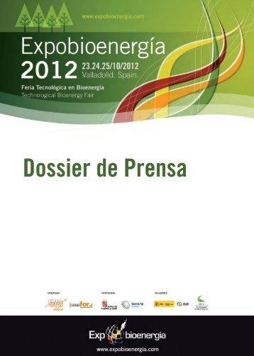 Dossier de Prensa Expobioenergía 2012