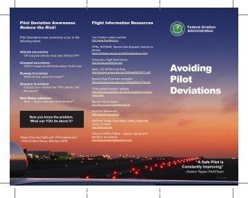 Avoiding Pilot Deviations - FAASafety.gov