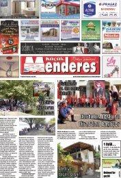 01 Eylül Tarihli Küçükmenderes Gazetesi
