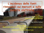 Seminario Ing. Andrea Galliani AEEG 2012 - TPG