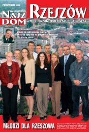 Listopad (6MB) - Stowarzyszenie Nasz Dom-Rzeszów