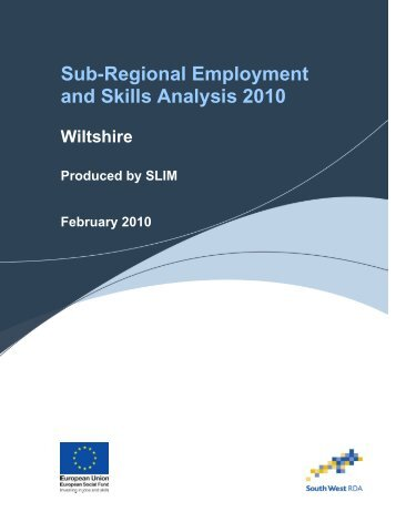 Wiltshire - The Skills & Learning Intelligence Module