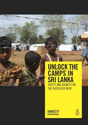 UNLOCK THE CAMPS IN SRI LANKA - TamilNet
