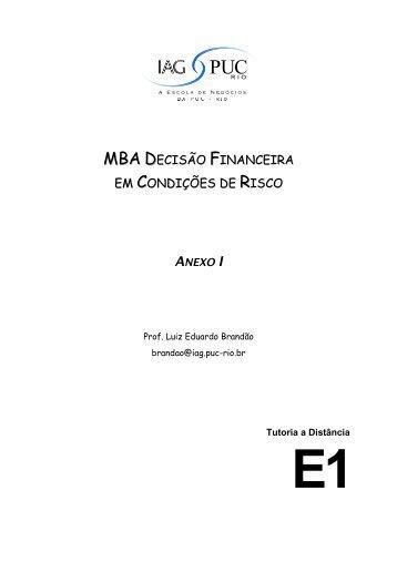 Anexo 1 - IAG - A Escola de Negócios da PUC-Rio