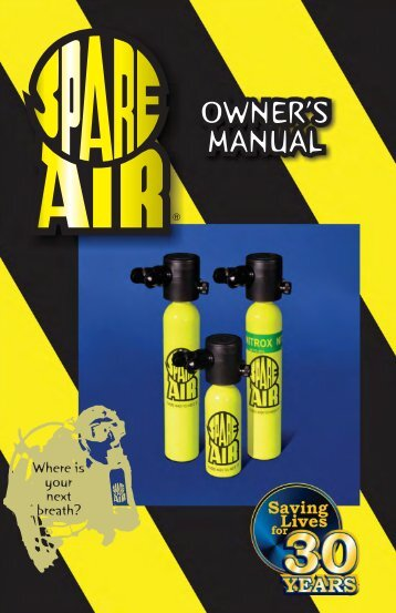 Owner's Manual - Spare Air