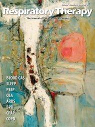 blood gas sleep peep osa ards bpd cpap copd - Respiratory ...