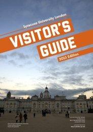 visitor's guide - SU Abroad - Syracuse University