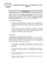 PROGRAMA DE PRÉ-INICIAÇÃO CIENTÍFICA DA ... - fea-RP - USP