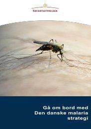 Orientering om malaria forebyggelse og behandling - Søfartsstyrelsen