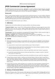jPOS Programmer's Guide - jPOS Programmer's Guide