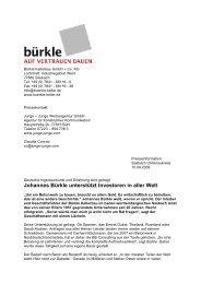 Johannes Bürkle unterstützt Investoren in aller Welt - Betonwerk ...