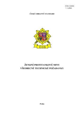 134502 - Odbor obranné standardizace