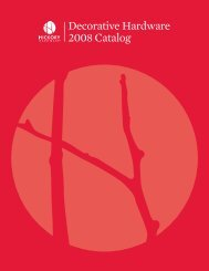 Decorative Hardware 2008 Catalog