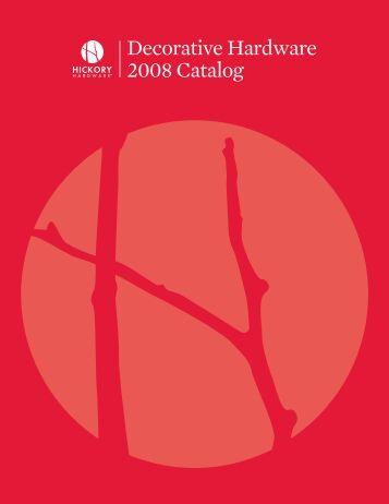 Decorative Hardware 2008 Catalog