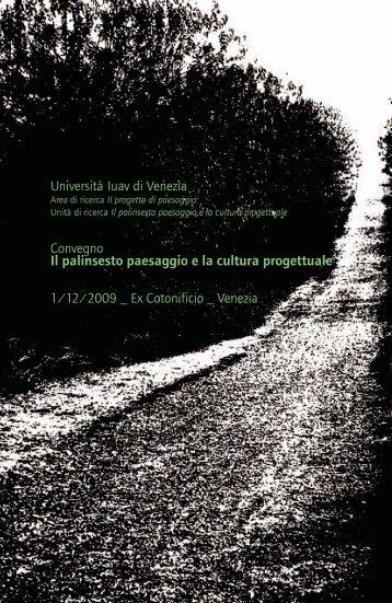 modello QS sabon generato in 6 - Biennale Del Paesaggio