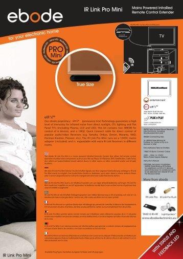 IR Link Pro Mini - BMB Electronics