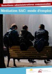 Médiation SAC: mode d'emploi - Association de la Ville et des ...