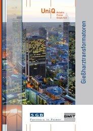 Gießharztransformatoren - SGB-SMIT - manufacturer of transformers