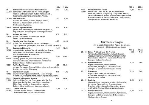 Teeliste 2010-2.indd - Leben in Sülz