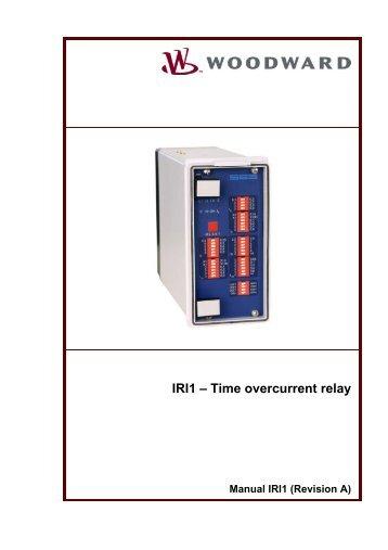 IRI1 – Time overcurrent relay