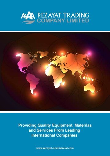 Providing Quality Equipment, Materilas and Services From Leading ...