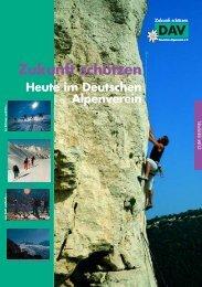 Zukunft schützen - Alpenverein Bayreuth