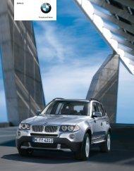 Freude am Fahren BMW X3