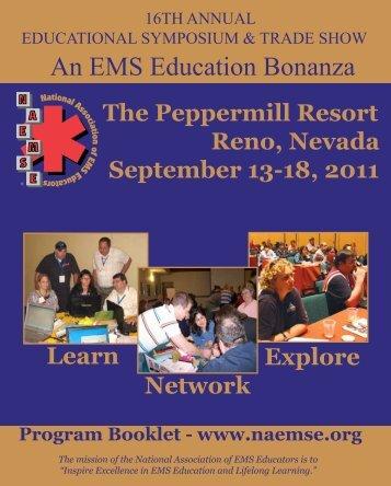 2011 NAEMSE Symposium Program Booklet