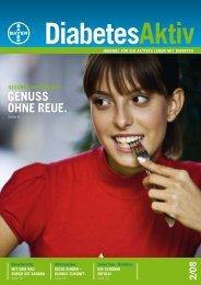 GENUSS OHNE REUE. - Bayer-Diabetes-Blutzuckermessgerät