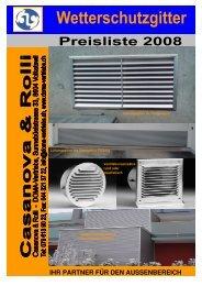 (Titel Preisliste 2008 L\374ftung.xls) - Casanova & Rolli GmbH