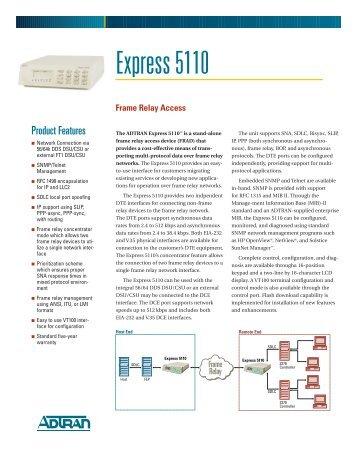Express 5110 - Data Connect Enterprise