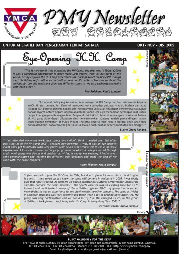 Eye-Opening H.H. Camp - YMCA Kuala Lumpur