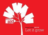 Annual review 2007/08 - Christian Aid