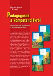 Pedagógusok a kompetenciákról 1-2. osztály - Műszaki Könyvkiadó