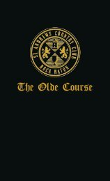 to view The Olde Course Yardage Book - St. Andrews Country Club